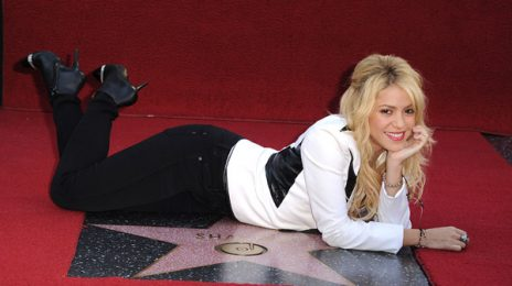 Hot Shots: Shakira Honored With A Star On Hollywood Walk Of Fame