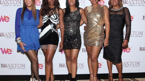 Hot Shots: The Braxtons Shine At 'Family Values' Premiere