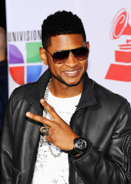 USHER ARRIVES AT 12TH ANNUAL LATIN GRAMMYS | ..::That ...  USHER ARRIVES A...