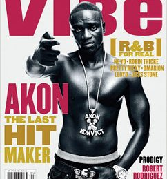 Akon Covers VIBE; Admits Polygamy Claim Was a Publicity Stunt