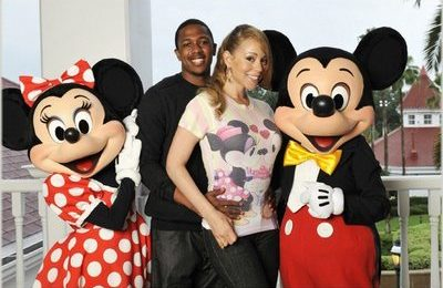 Mariah & Nick At Disney World