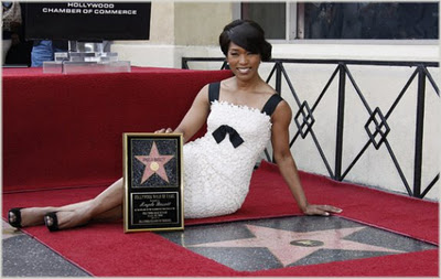 Angela Bassett Receives Hollywood Star