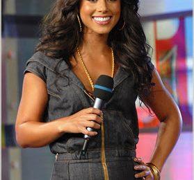 Alicia Keys Appears On TRL