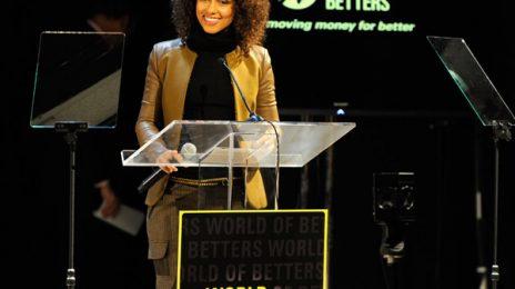 Hot Shots:  Alicia Keys Schools Kids On Making 'The World Betters'