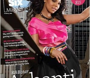 Ashanti Covers Page Six