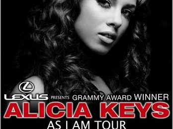 Competition: Alicia Keys Tour Give-Away! - Week 1 Winners