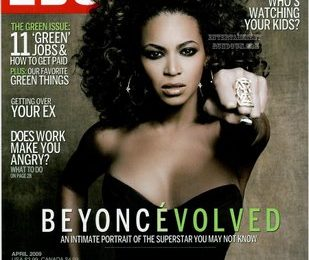 Beyonce Covers Ebony