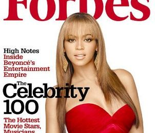 Beyonce Covers Forbes; Earnings Double Jay-Z's