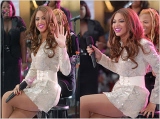 Beyonce Live On Today Show