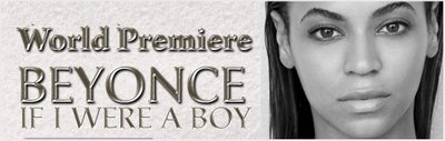 New Song: Beyonce - 'If I Were A Boy'