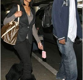 Brandy Spotted Out In LA
