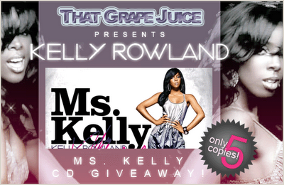 'Ms. Kelly' Album Give-Away Winners