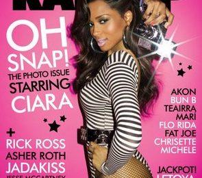 Ciara Covers Rap-Up