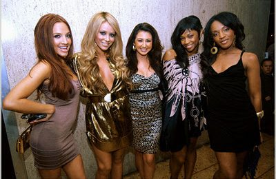Danity Kane & Co At Diddy's Party