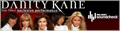 Competition: Danity Kane - Soundcheck Give-Away - Winners