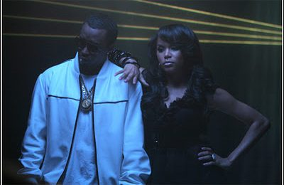 LeToya On Set The of 'Diddy Rock'