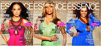 Alicia, Mary & Jill Cover ESSENCE