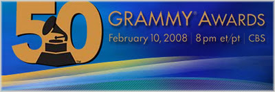 50th Annual Grammy Award Winners