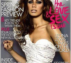 Leona Lewis Covers Harpers Bazaar