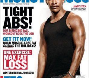 Jamie Foxx Covers Mens Health
