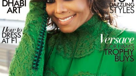 Hot Shots: Janet Jackson Covers Harper's Bazaar
