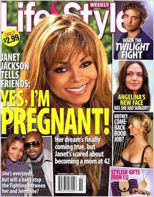 (Kinda) Confirmed: Janet Jackson Pregnant