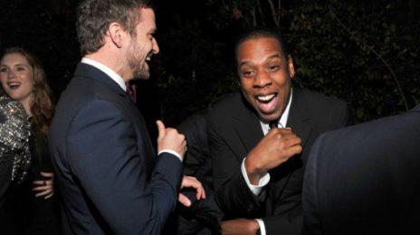 Hot Shots: Jay-Z & Justin Timberlake Laugh It Up At GQ Gala