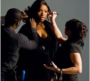 Pics: Jennifer Hudson On The Set Of 'If This Isn't Love' Video