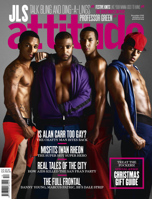 jls attitude JLS:  Behind the Scenes of Attitude Magazine