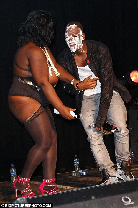 jls birthday 4 Hot Shots: JLS Member Gets Frisky With Stripper At G A Y