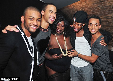 jls stripper Hot Shots: JLS Member Gets Frisky With Stripper At G A Y