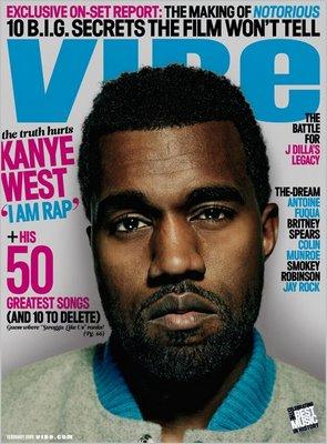 Kanye West Covers VIBE