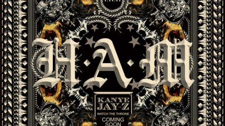 Kanye West Reveals 'H.A.M' Single Artwork