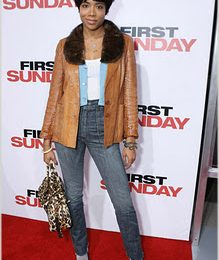 Kelis At 'First Sunday' Premiere