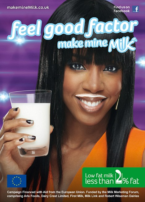 kelly milk Kelly Rowland Unveiled As Face Of Make Mine Milk