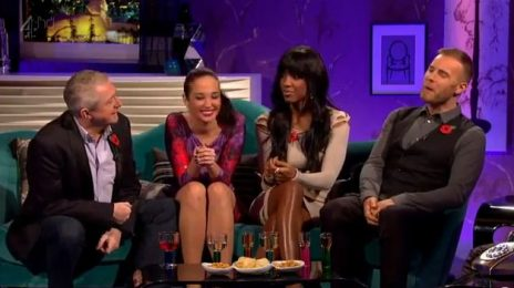 Watch: Kelly Rowland Rolls By Alan Carr