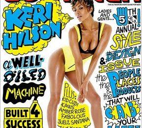 Keri Hilson Covers Complex