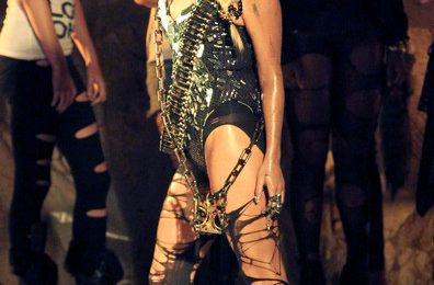 Hot Shots: Ke$ha On The Set Of 'We R Who We R' Video