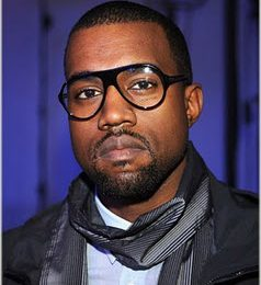 Kanye West At Lanvin Fashion Show