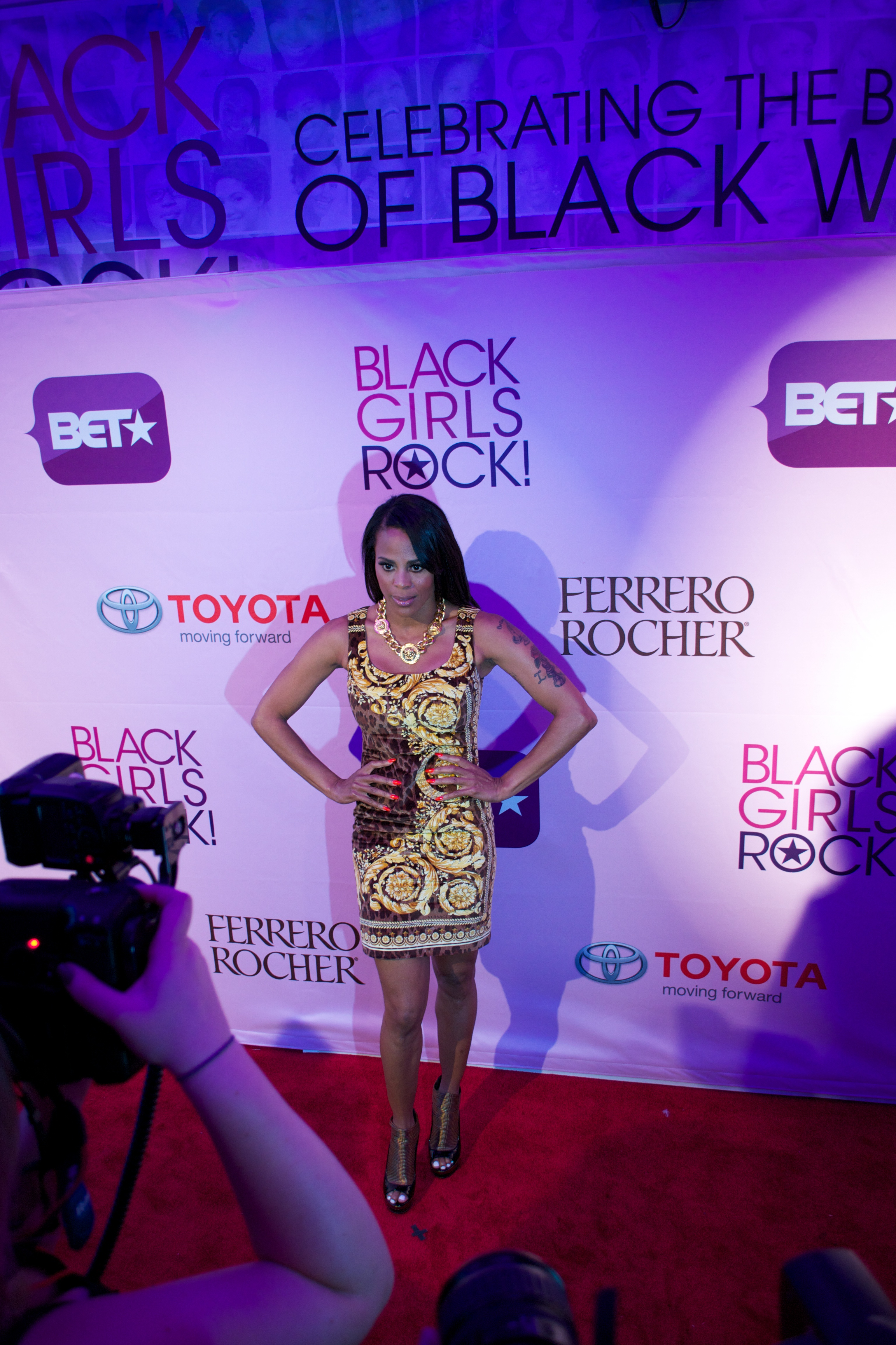 laurie ann Hot Shots: That Grape Juice At BET Black Girls Rock 2011!