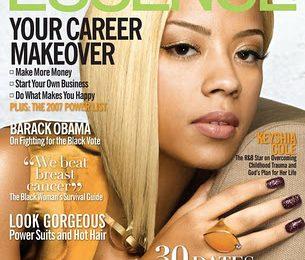 Keyshia Cole Covers Essence Magazine