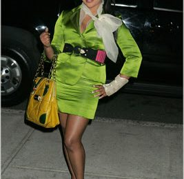 Lil' Kim At Marc Jacobs Event