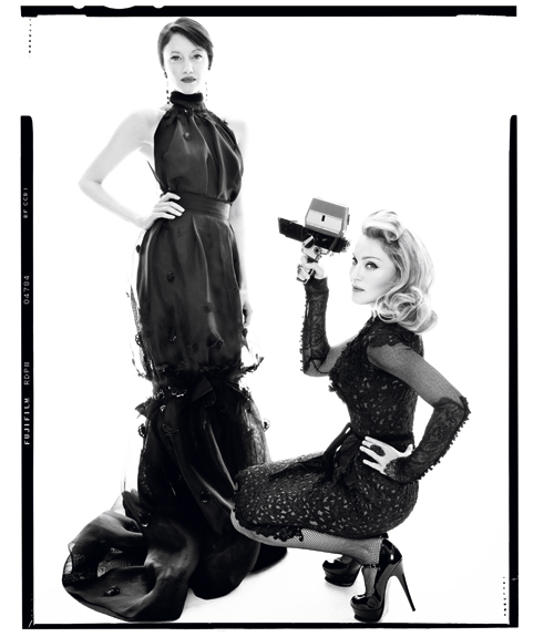 madonnaharper 11 Hot Shots: Madonna Makes Moves With Harpers Bazaar *Updated*