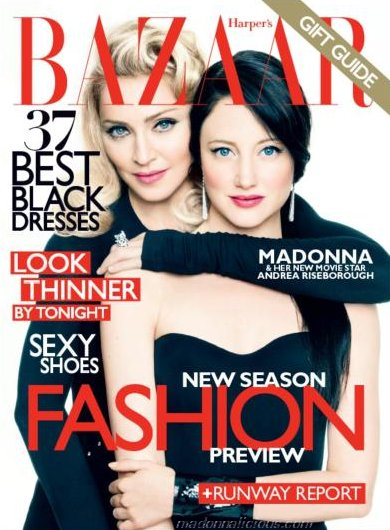 madonnaharper 2 Hot Shots: Madonna Makes Moves With Harpers Bazaar *Updated*