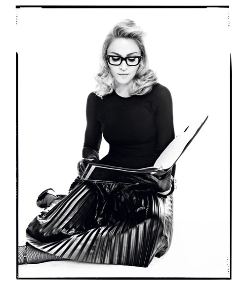 madonnaharper 3 Hot Shots: Madonna Makes Moves With Harpers Bazaar *Updated*