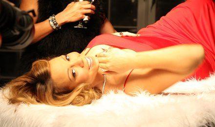 Hot Shots: Mariah Carey Shoots Video With John Legend