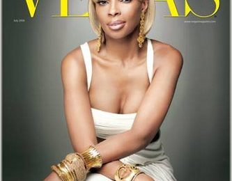 Mary J. Blige Covers Vegas Magazine