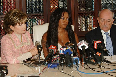 Mel B Holds Press Conference