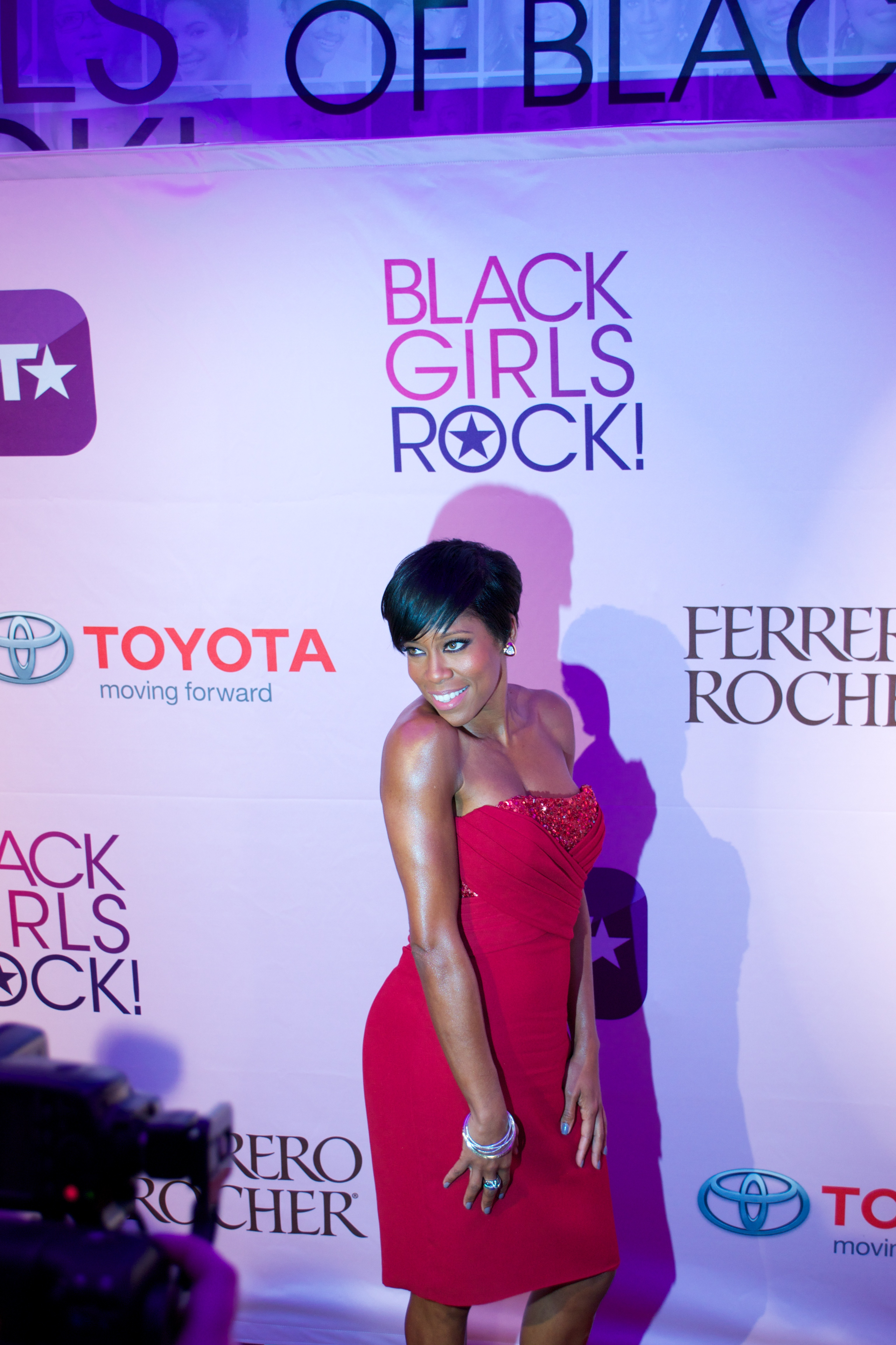 melinda Hot Shots: That Grape Juice At BET Black Girls Rock 2011!