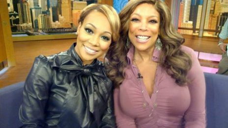 Monica Visits 'Wendy Williams'